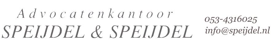 Advocatenkantoor SPEIJDEL & SPEIJDEL